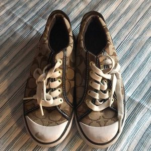 Coach size 5 sneakers